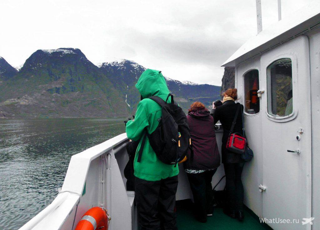 На пароме по фьордам Норвегии