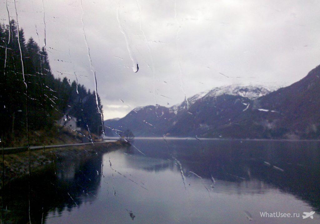 Страна фьордов Норвегия