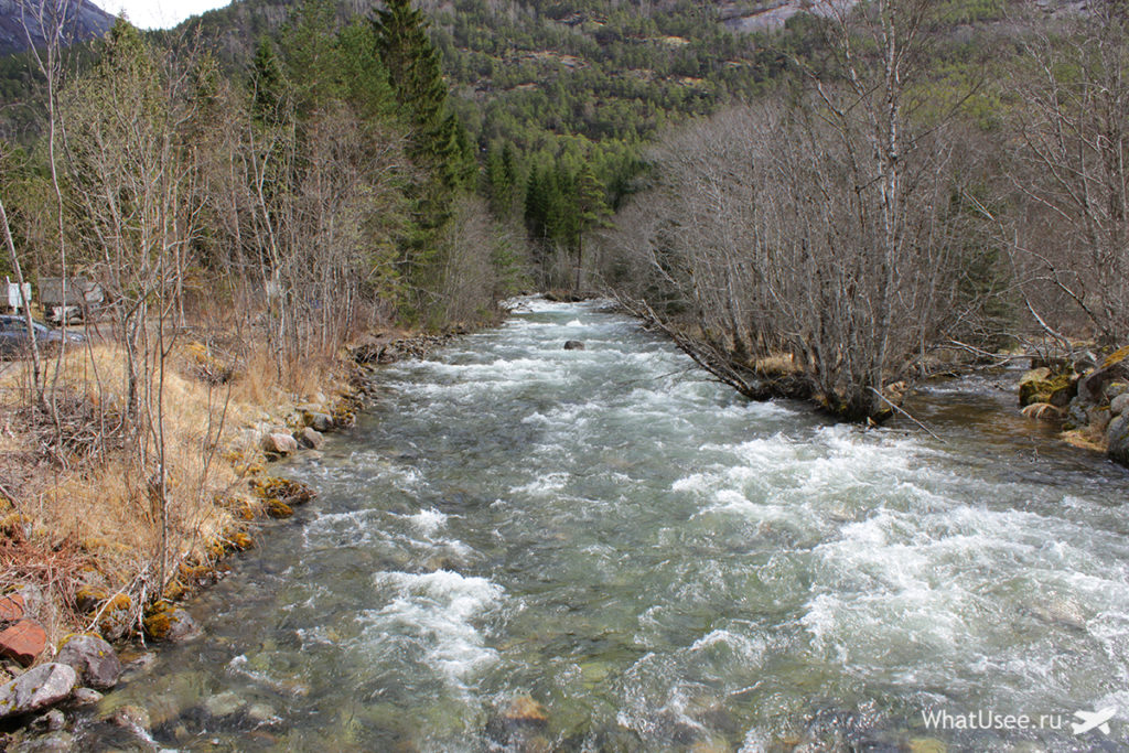 Дорога Водопадов в Норвегии