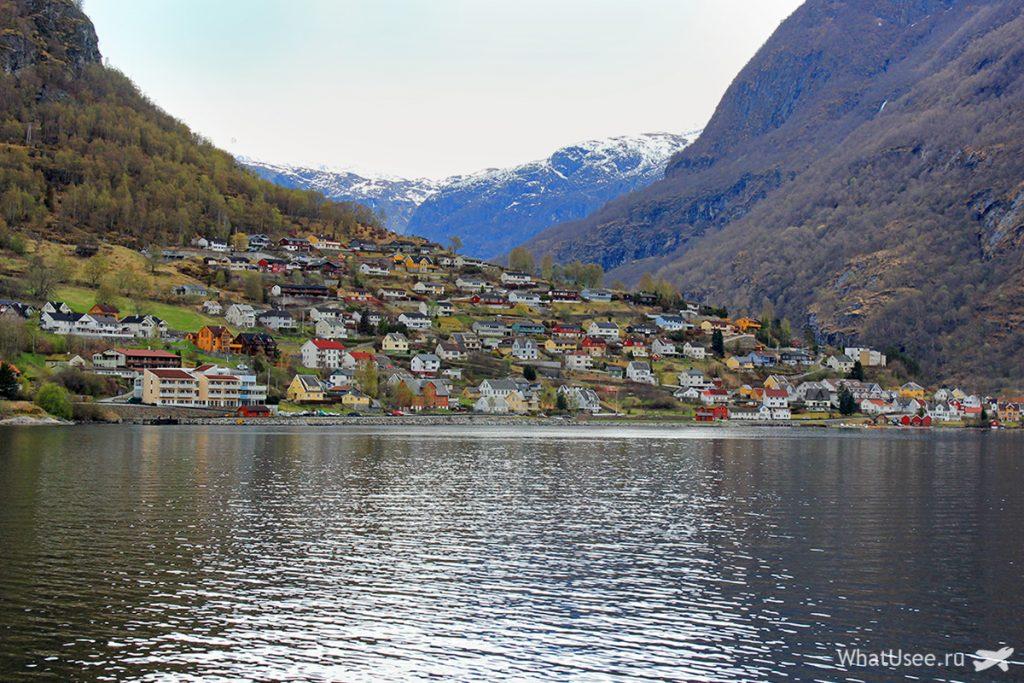 Домики на Сонге-фьорде