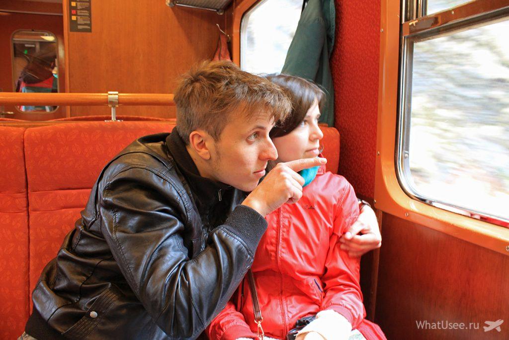 Поезд Флом