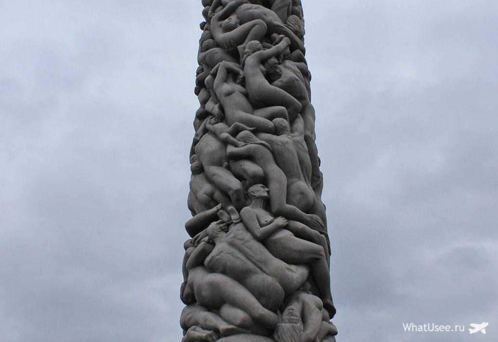 Парк Вигеллана в Норвегии