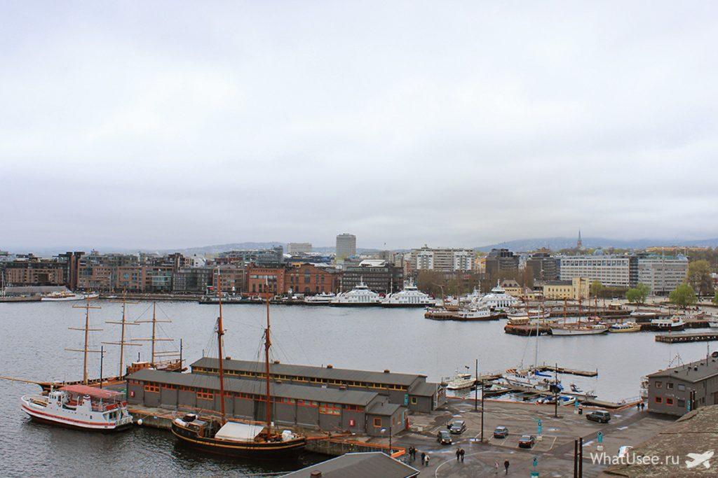 Смотровая площадка в Осло
