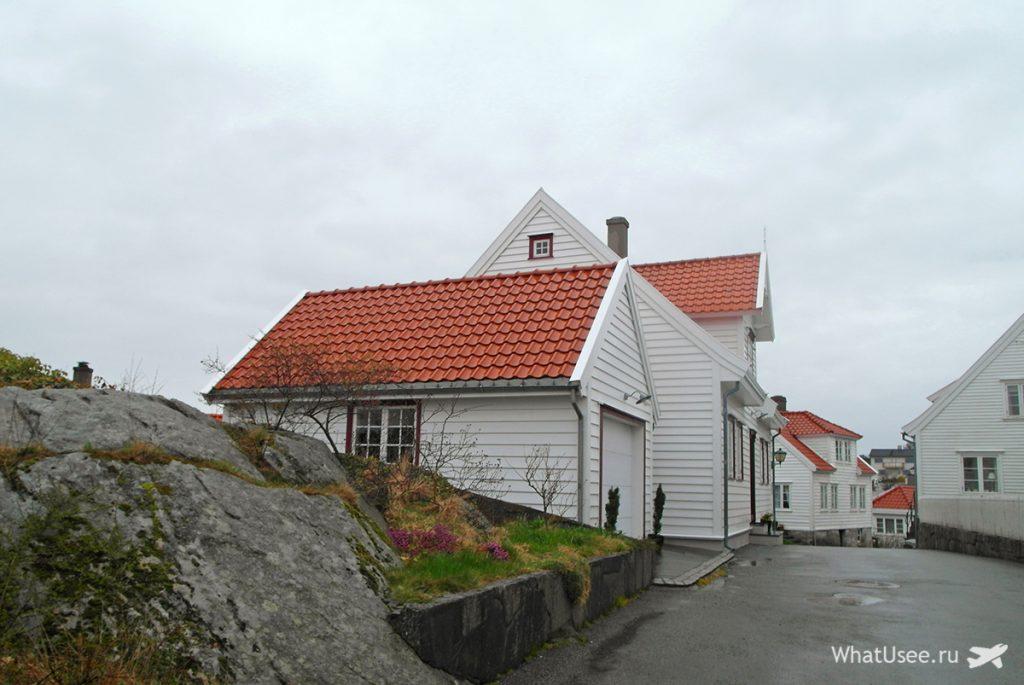 Город Скуденесхавн в Норвегии