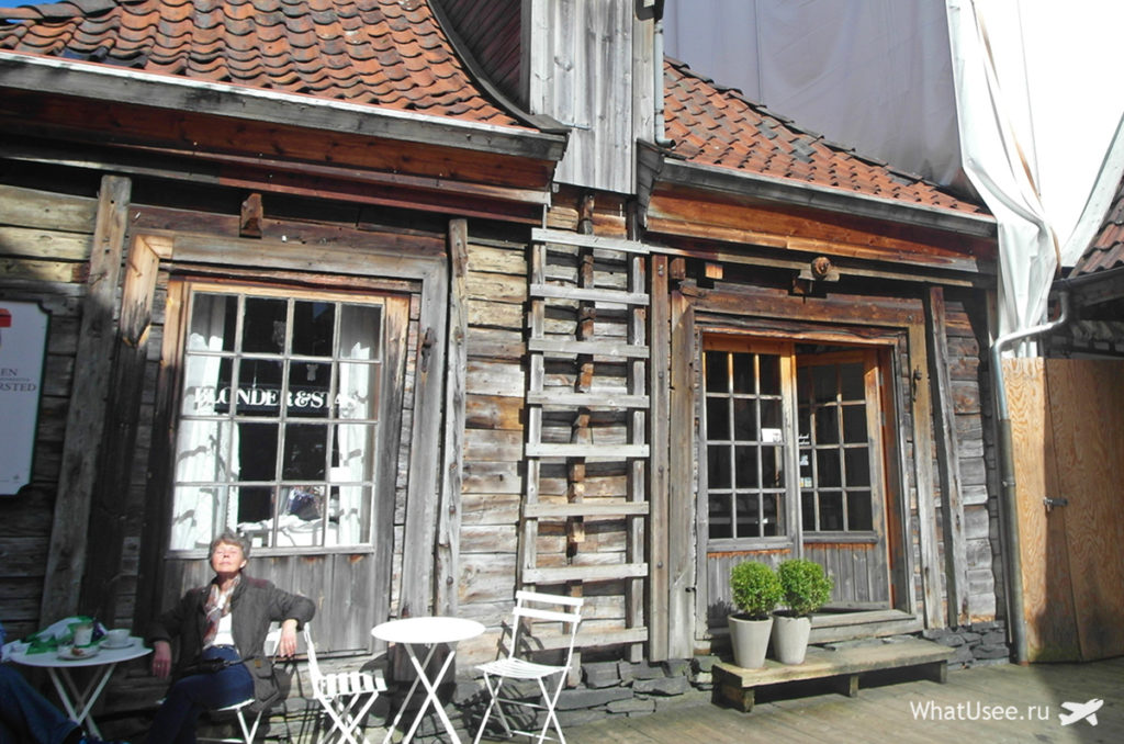 В норвежский Берген самостоятельно
