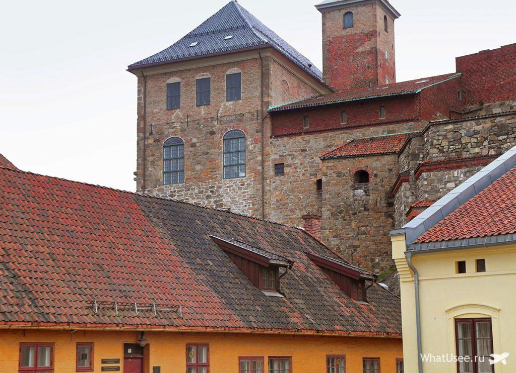 Старый город в Осло