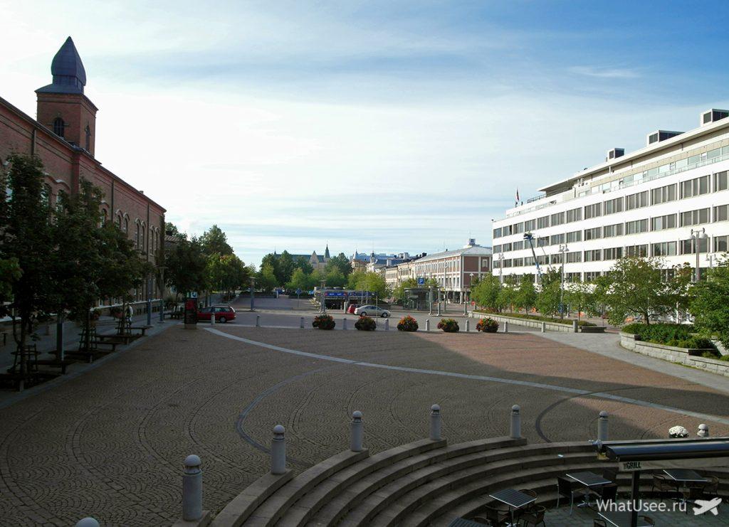 Поездка в город Тампере в Финляндии