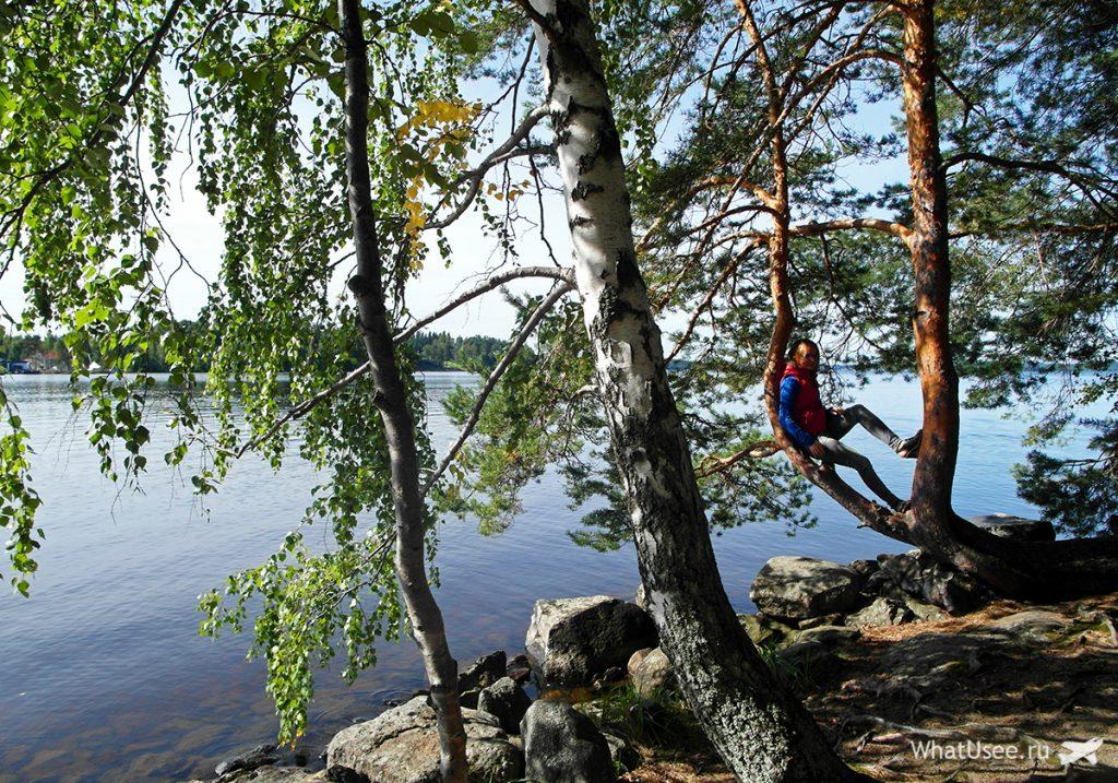 Озёра в Финляндии