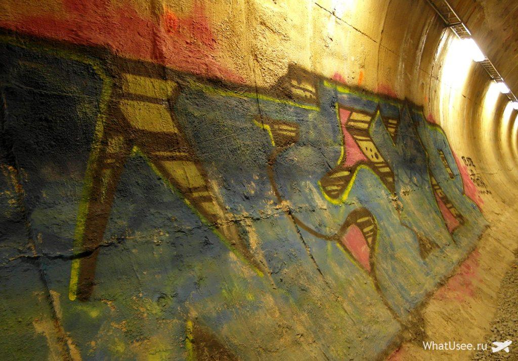 Подземный тоннель в Тампере