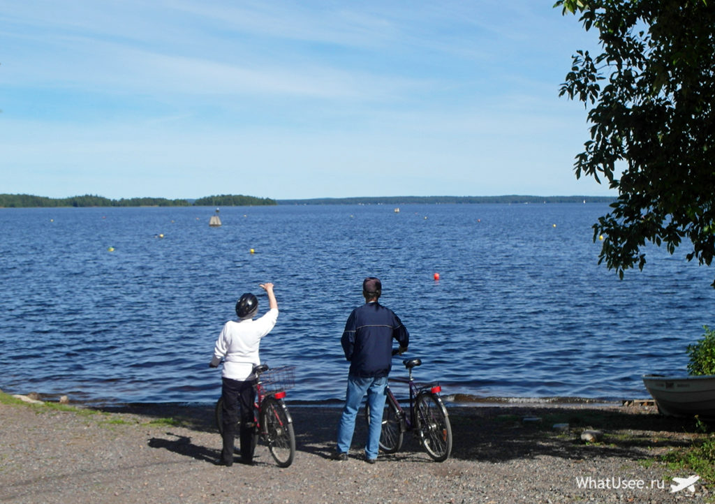 Природа в Финляндии в Тампере
