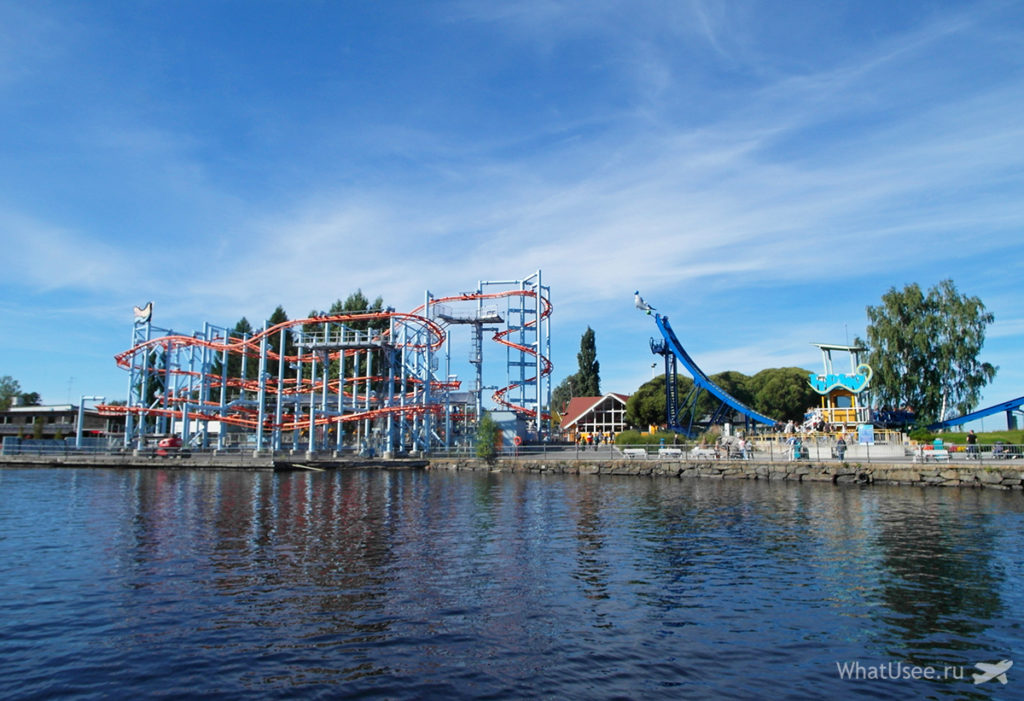 Парк развлечений Särkänniemi в Тампере