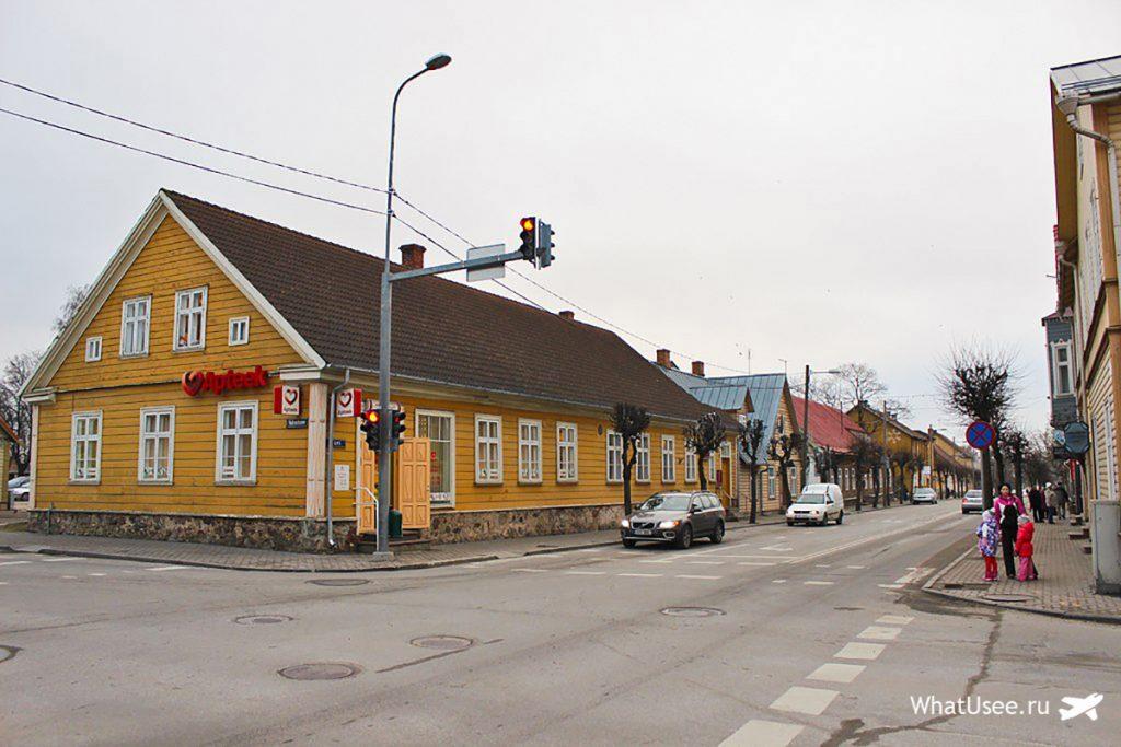 Эстонский город Выру