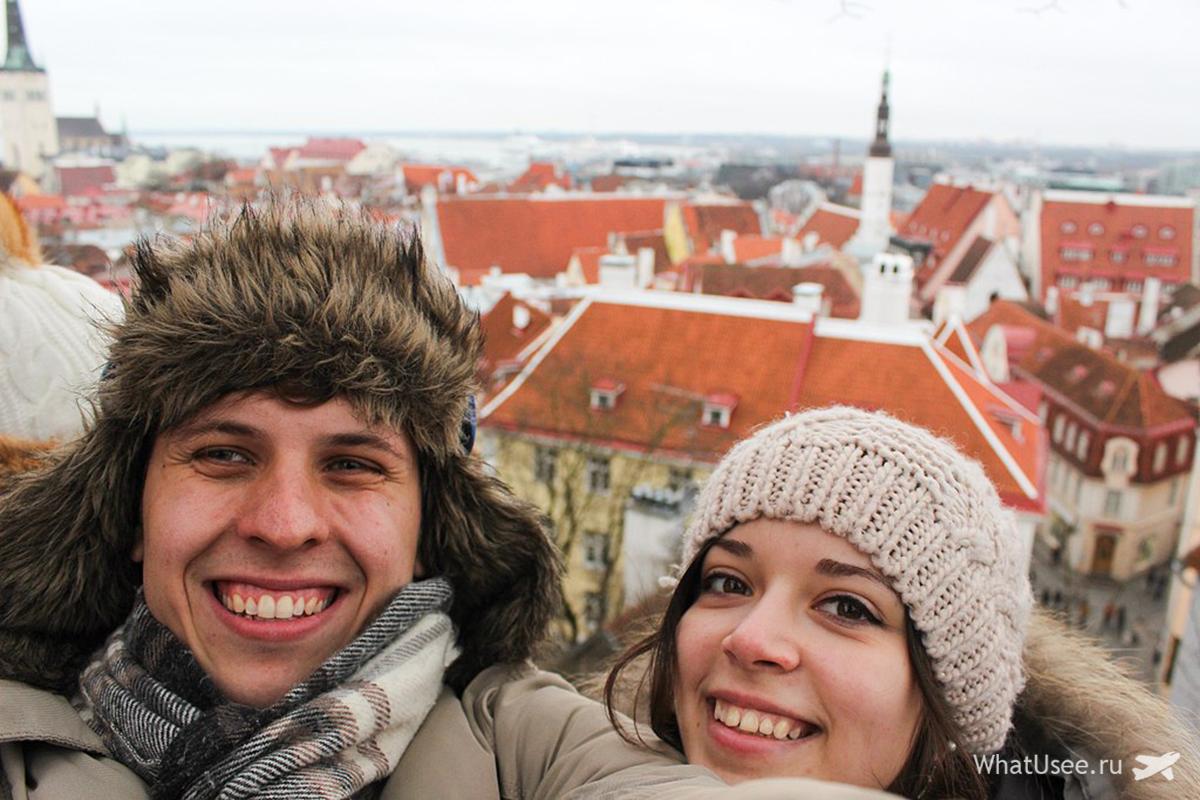 Эстония автостопом