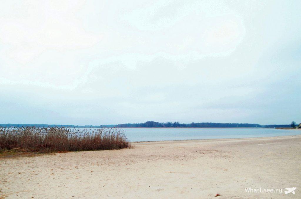 Озера города Выру в Эстонии