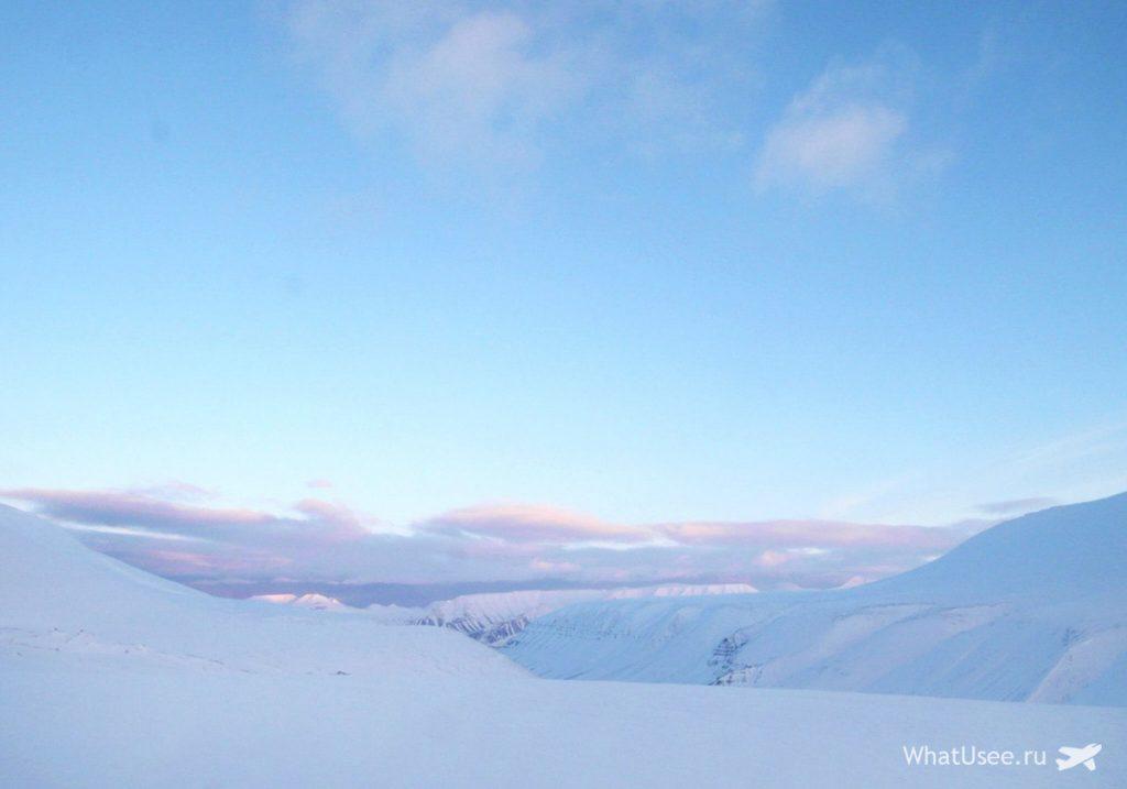 Утро в Арктике