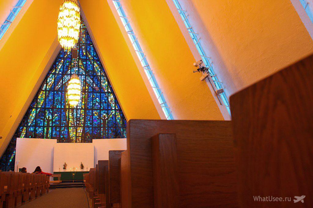 Арктический собор в Тромсё