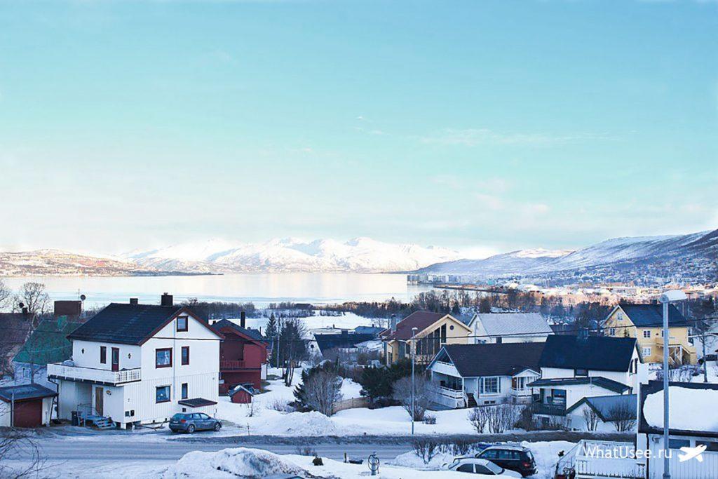 Самостоятельное путешествие в город Тромсё зимой