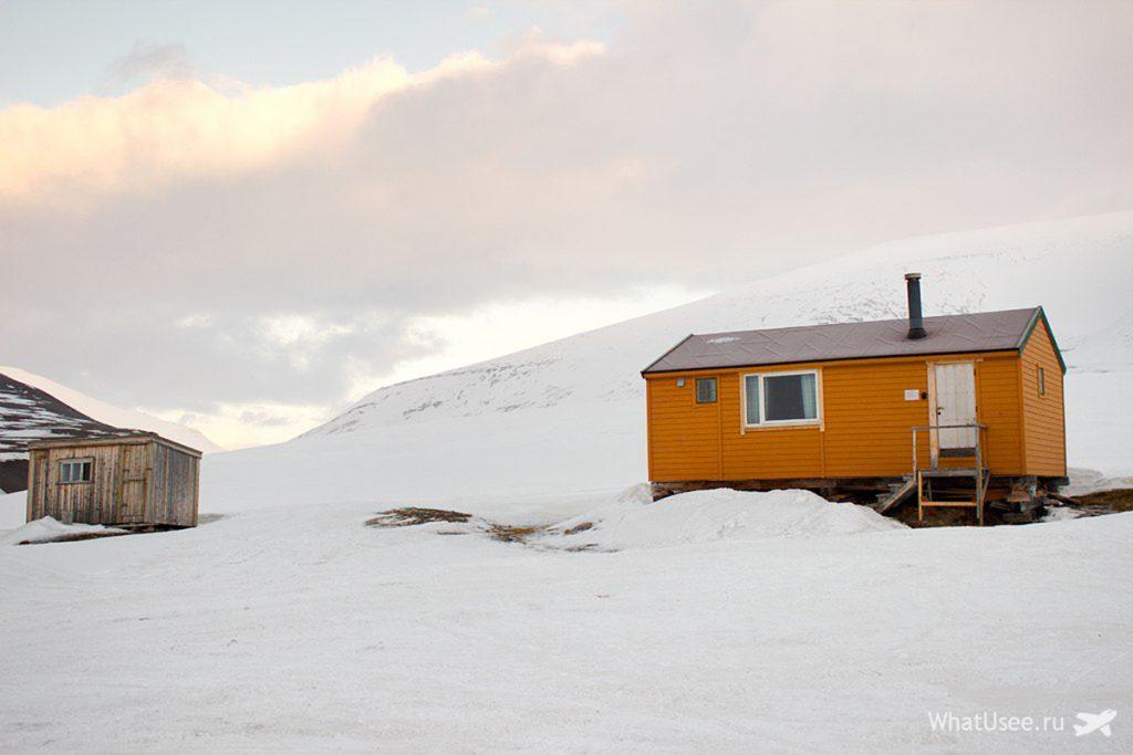 На снегоходах по Шпицбергену