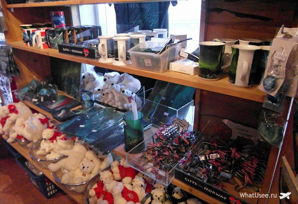 Сувениры из поездки в Тромсё