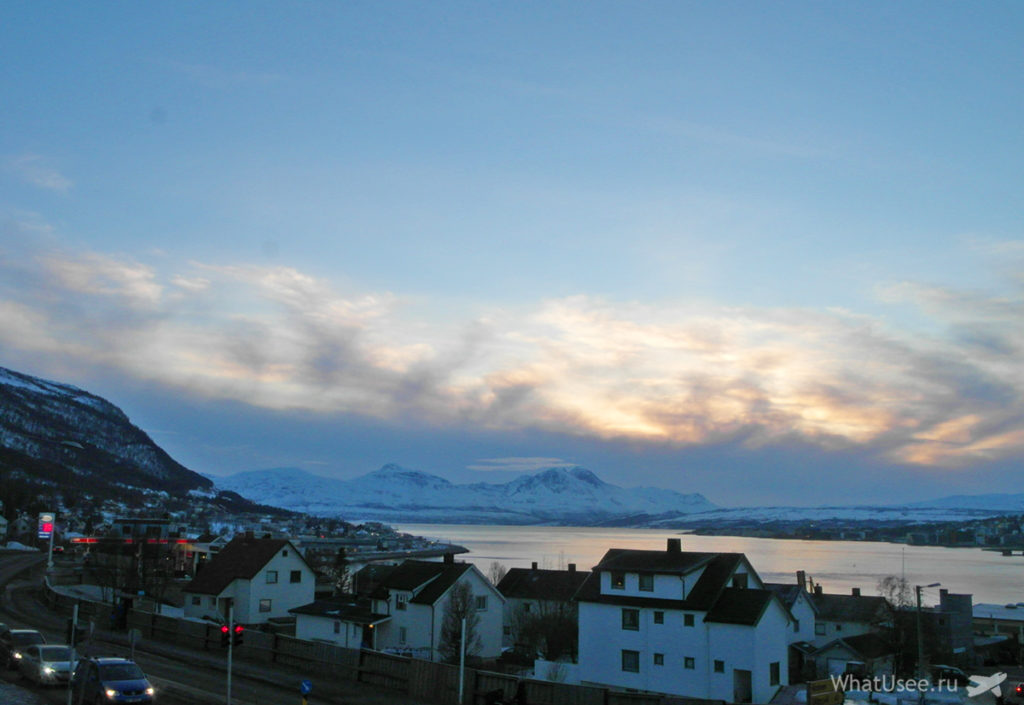 Фотографии Тромсе зимой