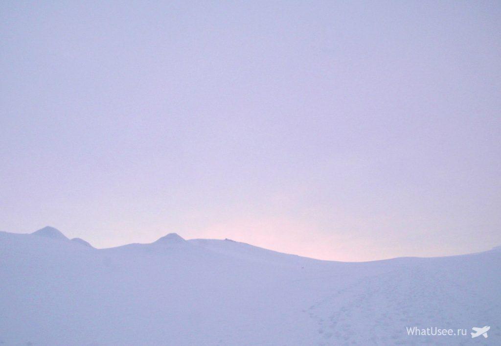 Экскурсия на ледник, Шпицберген