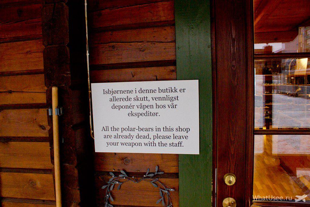 Магазины в Лонгйире