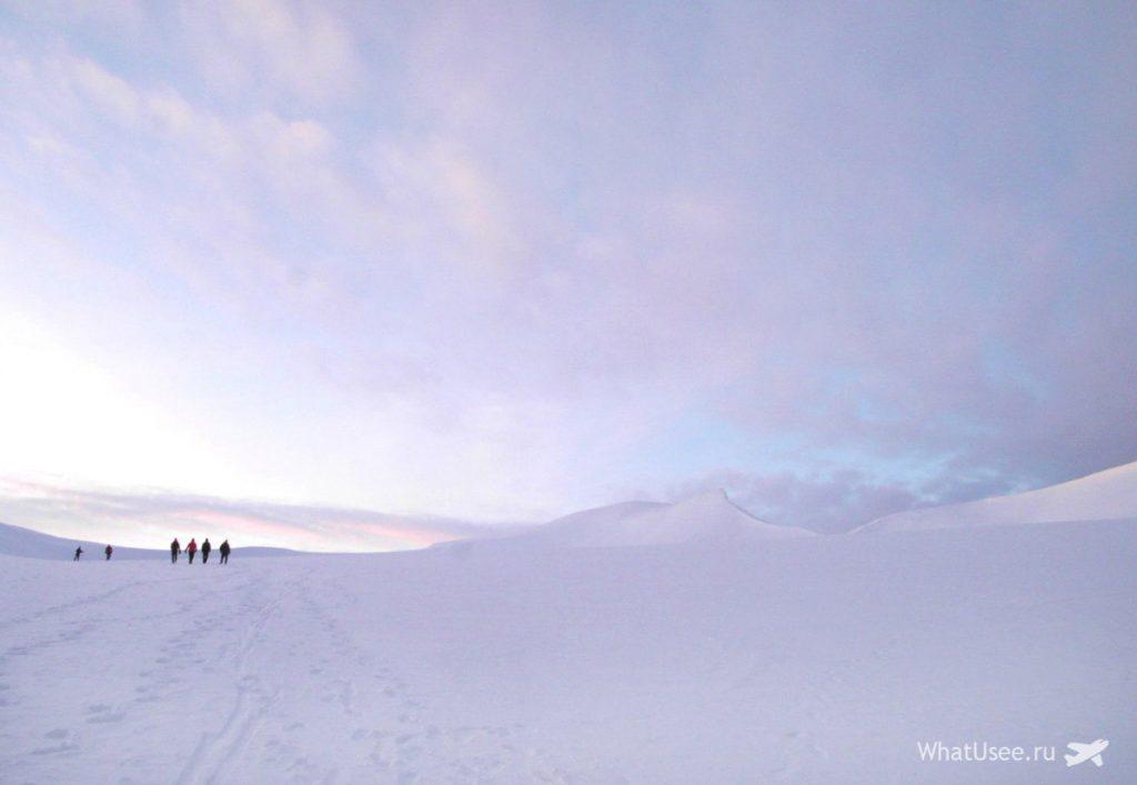 Ледник на Шпицбергене