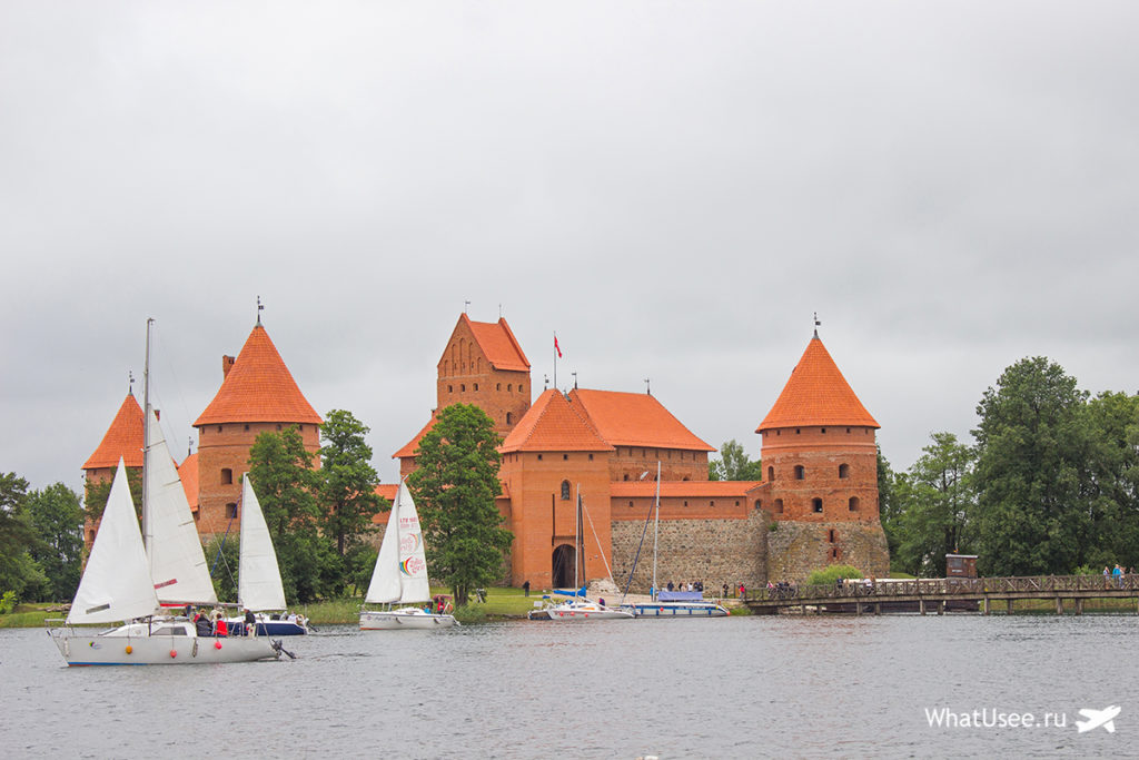 Тракайский замок из Вильнюса
