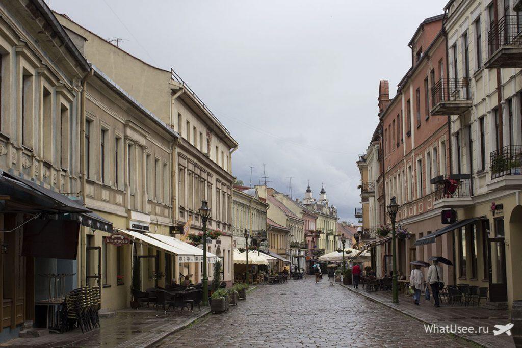 Поездка в Каунас