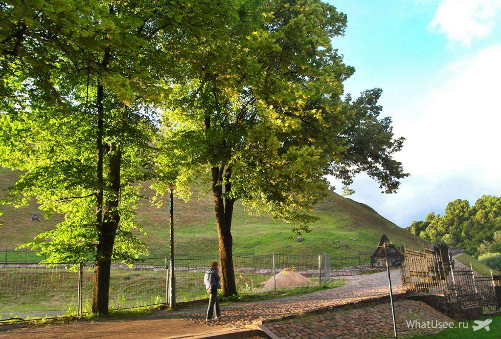 Холм Гедимина в Вильнюсе