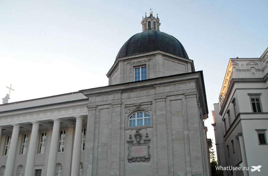 Главная площадь в Вильнюсе