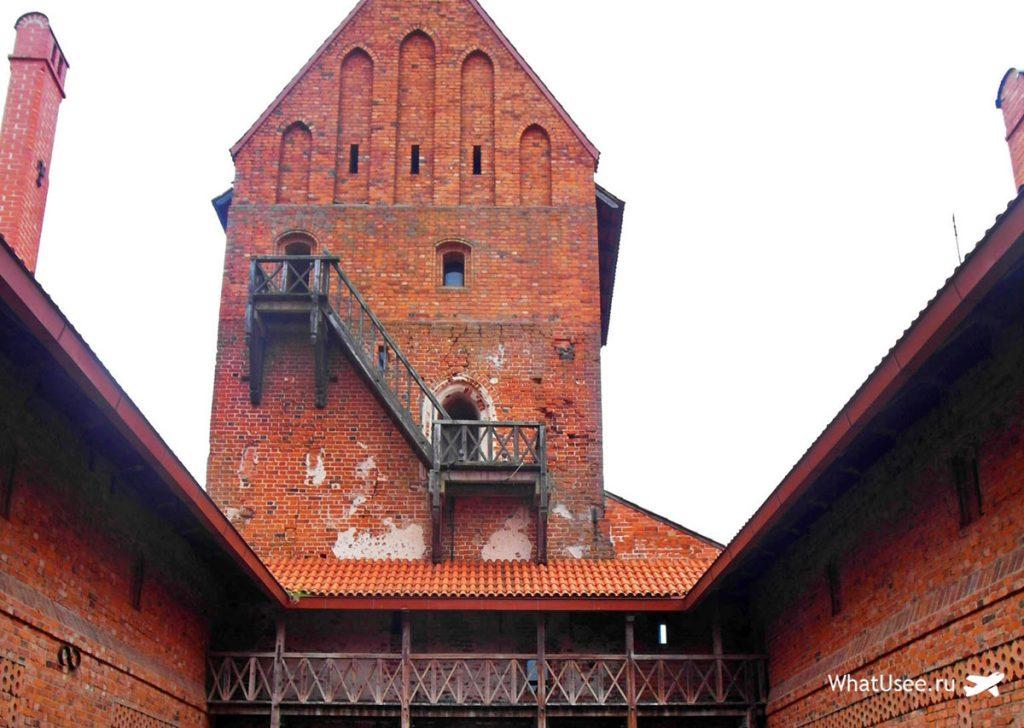 Тракайская крепость в Литве