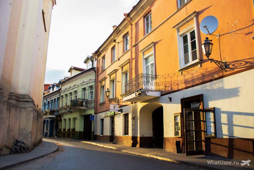 Улицы Старого Вильнюса