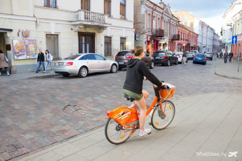 Велосипеды в Литве