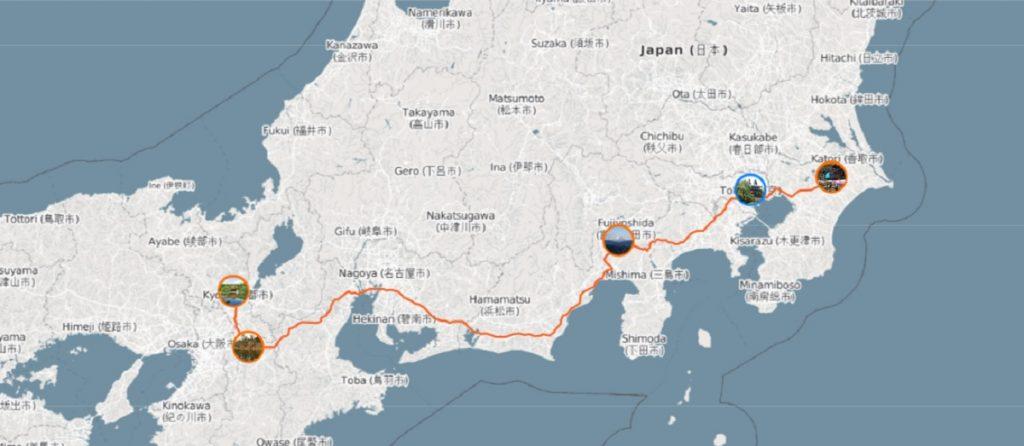 Маршрут по Японии для первого раза
