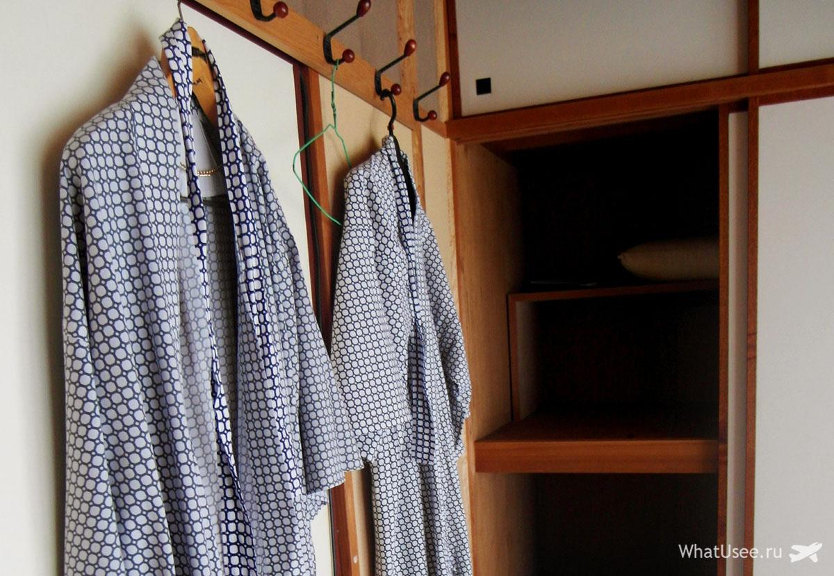 Традиционный рёкан и юката