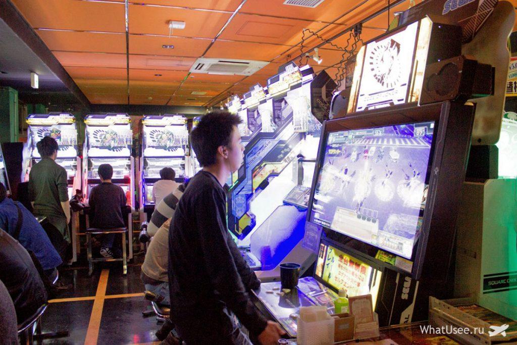 Игровые автоматы в Акихабара