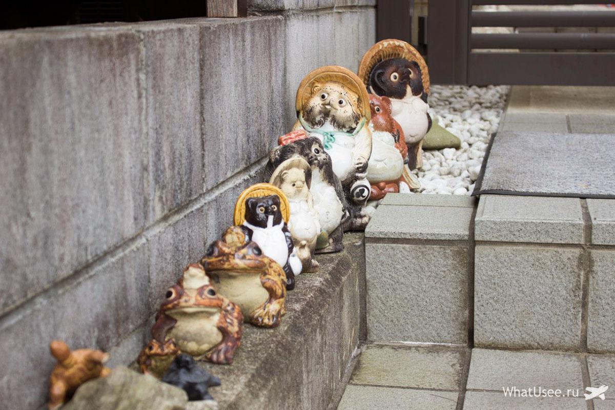 Тануки в Японии