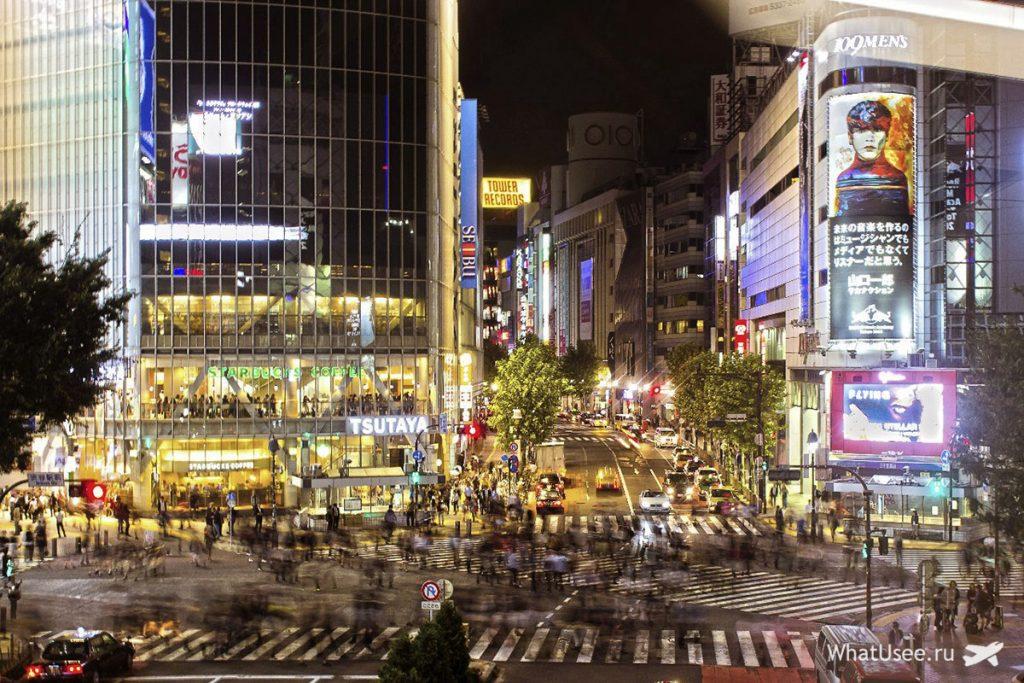 Токийская архтектура на фото