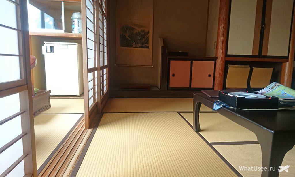Комната в рёкане в Японии