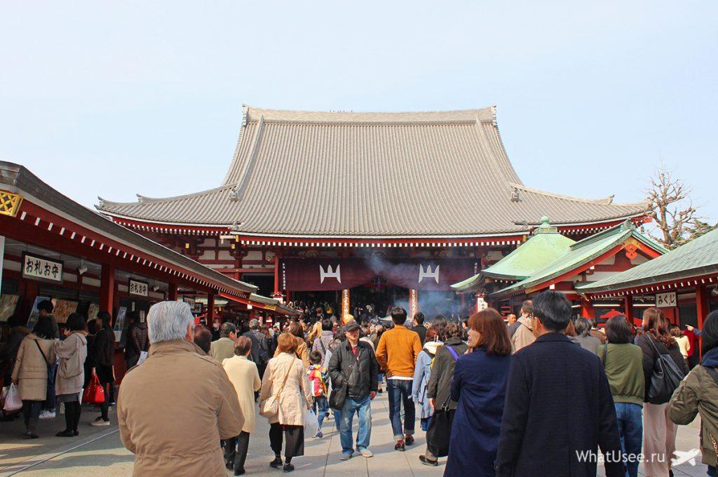 Храм Сэнсодзи и Асакуса в Токио