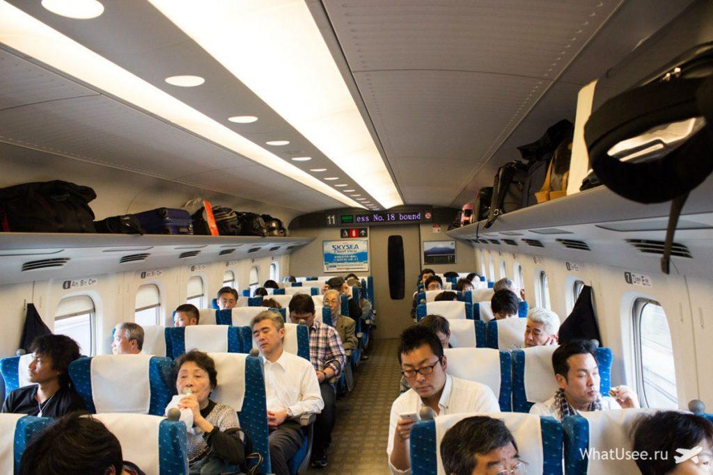 Поезд Токио-Киото