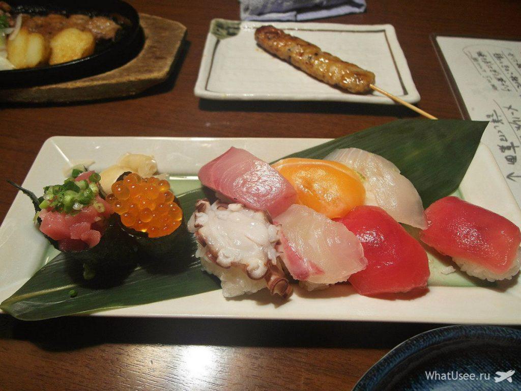 Суши в Японии
