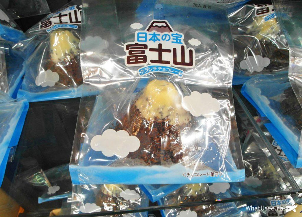 Пятая станция и сувениры на Фудзи