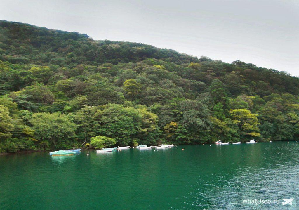 Озеро Аси в Японии
