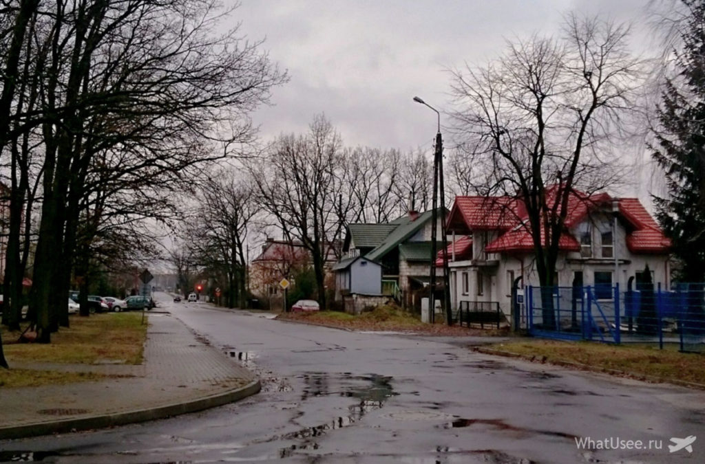 Автостопом по Польше