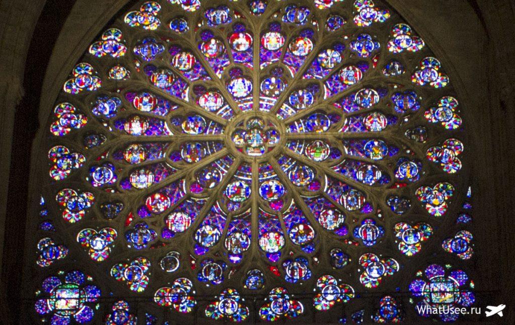 Внутри собора Парижской Богоматери