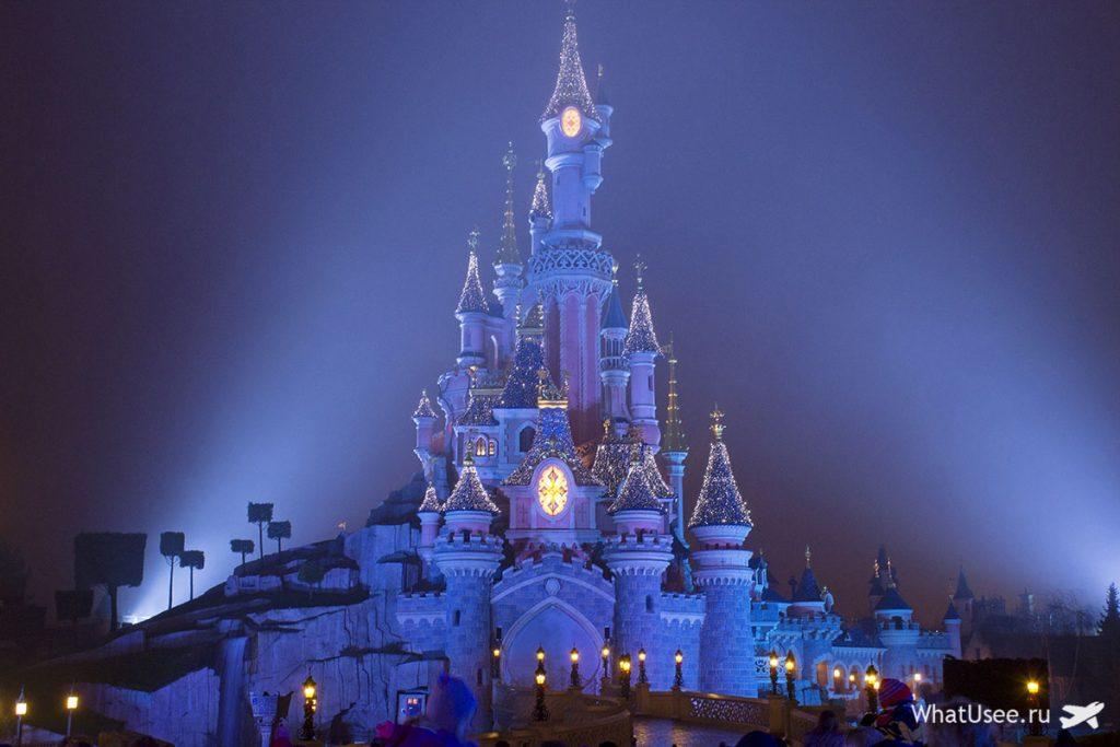 Замок спящей красавицы в Париже