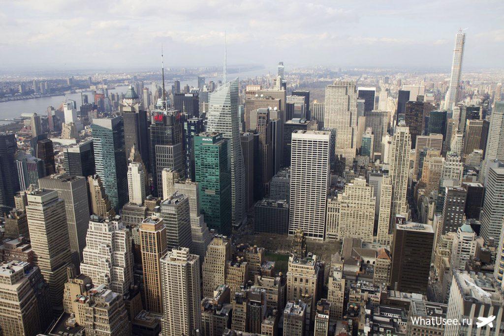 Финансовый квартал Нью-Йорка