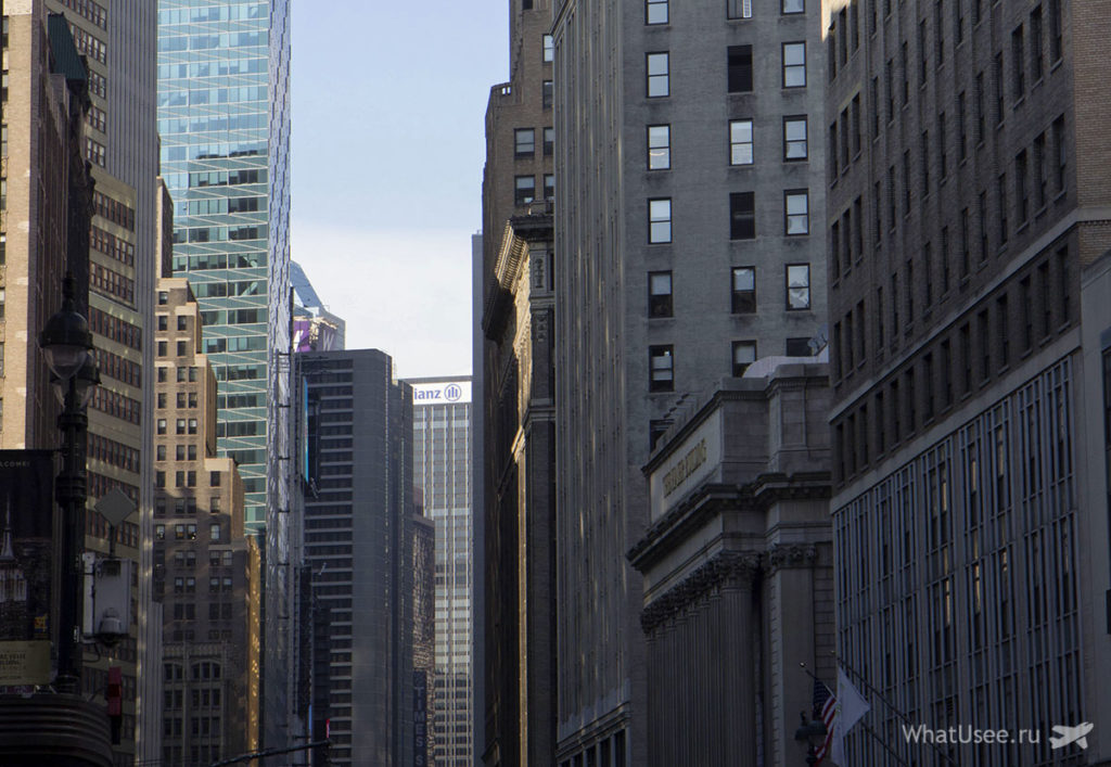 Фото улицы Нью-Йорка
